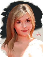 Speedpaint: Rachael Leigh Cook by StarvingStudents
