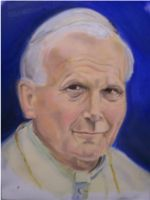 John Paul II by BlueHorseShoe