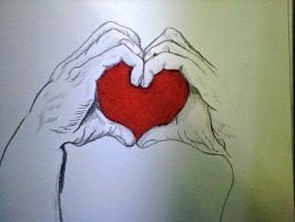 hand heart by angelo10c