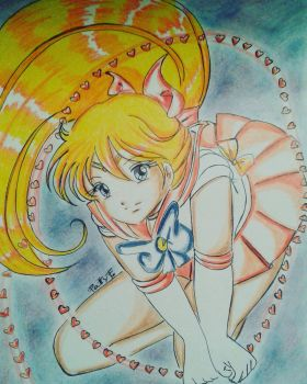 Sailor Venus by ariesnopatty