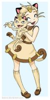 Meowth by keevs