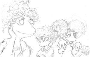 First Fraggle Drawing Ever by mohnman