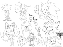 Sonic Boom doodle by Souyuu221