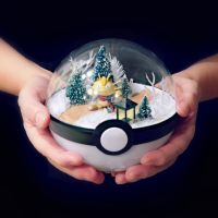 Meowth December Path - Poke Ball Terrarium by TheVintageRealm