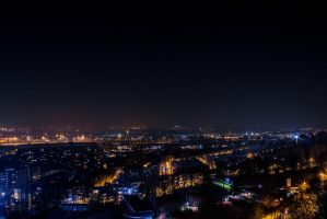 Brussels Nightscape ver. 2.0 by RaeymaekersP