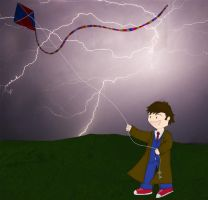 The Doctor flies a kite by whosname