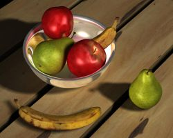 Fruit Bowl by Facial-Tic