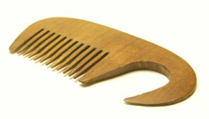 Wooden Comb by delainestock