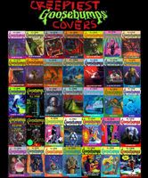 Creepiest Goosebumps Covers by Shadowstalker55