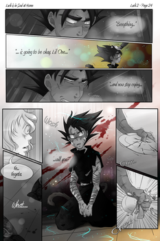 DBZ - Luck is in Soul at Home - Luck 2 Page 24 by RedViolett