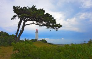 Hiddensee lighthouse by Lykorias