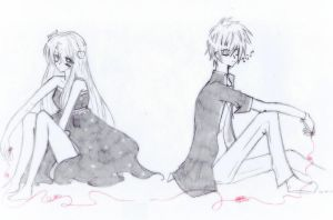 Even if we are no longer connected... by Kanayan