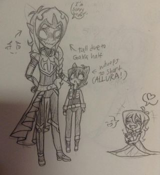 Galrea Altean Brothers by LiveWireGoth