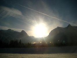 Leaving Banff by ceejayessee