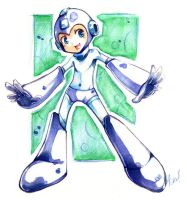Just Megaman by LazyTurtle