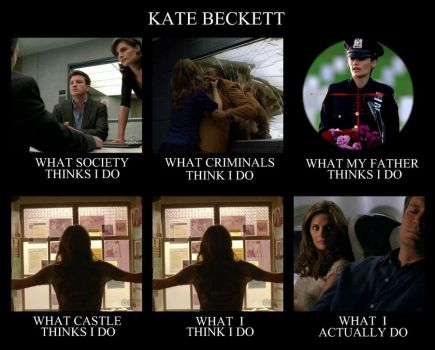 What people think Kate Beckett does by laureta1387