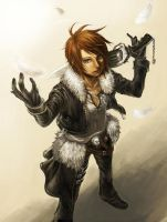 Squall DFF by f-wd