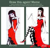 Draw again MEME by Megumipandolfo