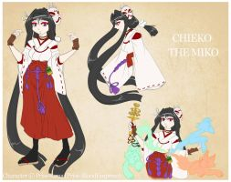 BeyFantasy OC::. Chieko The Miko - Concept by Priss-BloodEmpress