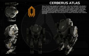 Cerberus Atlas ortho by unusualsuspex
