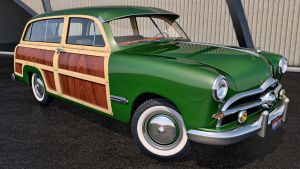 1949 Ford Woody Station Wagon by SamCurry