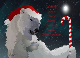 A Beary Merry Christmas by Hagge