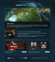 eSportsaddict Email Newsletter by squizzi