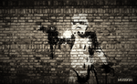 Storm Trooper Wall Wallpaper by MUSEION-ARTWORK