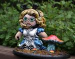 Alice in wonderland custom mighty mugg by VILORIA-ARTS