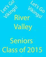 River Valley Seniors Poster by aubreyleeann