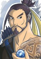 Overwatch: Hanzo by Israel42