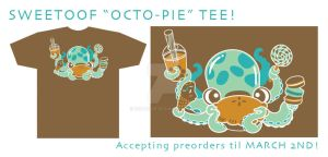 Sweetoof Octo-Pie Tee by inki-drop