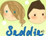 Seddie Chibis. by HannahLouLou