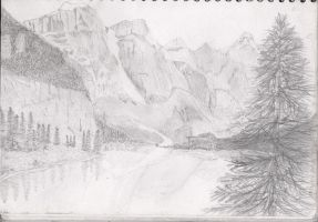 Scenic Drawing by iloveminties