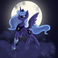 Luna by LovelyArtDump