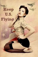 Flying... by HellAngelBaby