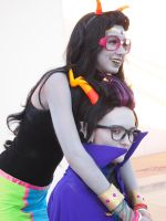 Taiyou 2013- Eridan and Feferi by sammaclausegamgee