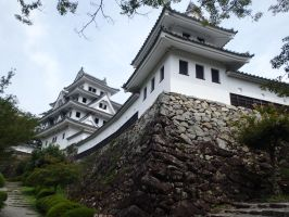 Gujo Hachiman Castle 4 by SHiNiGAMi-Xiii