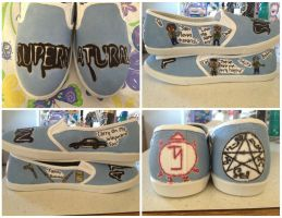 My Supernatural Shoes by nicolelylewis