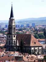 Above Cluj by Sadguardian