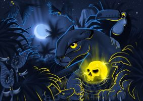 Legend of The Golden Skull by Mikesource