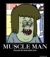 Muscle Man Troll face by Lord-Benson