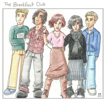 The Breakfast Club by HapyCow