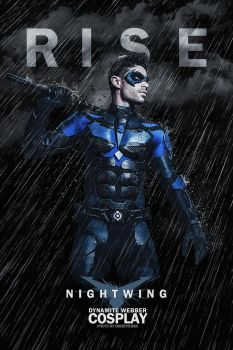 Rise of Nightwing by OhHeyItsSK