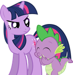 Something Funny Spike? by SpellboundCanvas