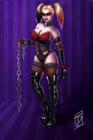 Dominatrix Harley by Trance-Sephigoth
