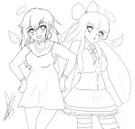 Panty and Stocking lineart by Coco-Apple