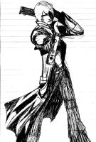 Dante DMC3 rough sketch by impish-midna
