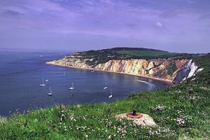 Alum Bay, Isle of Wight by Tangent101