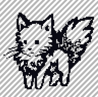 Fluffy Kitty Pixel [FREE] by AmethystCreatures